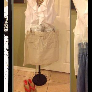 GAP size 14 Khaki skirt